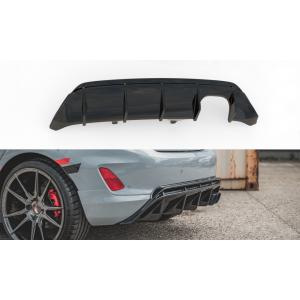 Maxton Arrière Diffuseur V2 Noir Plastique ABS Ford Fiesta-76990
