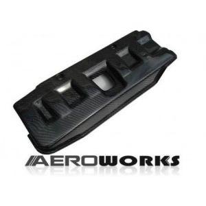 AeroworkS Cache Moteur Carbone Honda Civic-30560