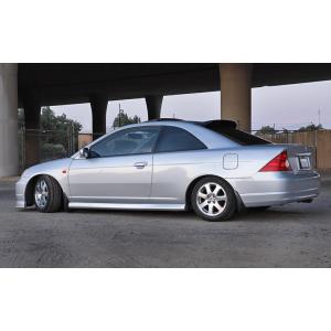 SK-Import Arrière Deflecteur de Vitre Fumé Plastique Honda Civic-56219