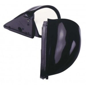 SK-Import Retroviseurs Latéraux Group N Style Manuel Ajustable Noir Plastique ABS-30536