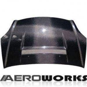 AeroworkS Capot VS2 Style Carbone Honda Civic-30655
