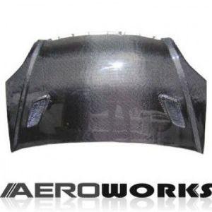 AeroworkS Capot Mugen Style Carbone Honda Civic-30614