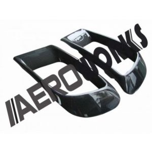 AeroworkS Avant Ecope Carbone Mitsubishi Lancer Evolution-30550