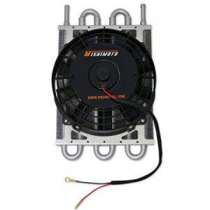 Mishimoto Radiateur de Transmission Heavy Duty Electric Fan Noir Aluminium-39359