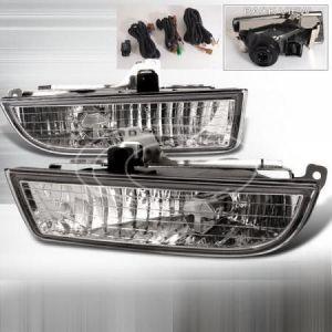 SK-Import Anti-Brouillard Chromé Transparent Honda Prelude-39474