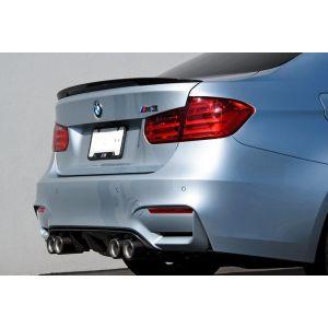 CarbonWorks Arrière Diffuseur Carbone BMW 3-serie,4-serie-64241