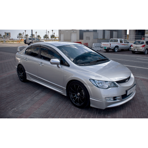 SK-Import Jupes Laterales Mugen Noir Plastique ABS Honda Civic-39548