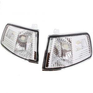 Sonar Veilleuses Chromé Transparent Honda CRX Facelift-35097