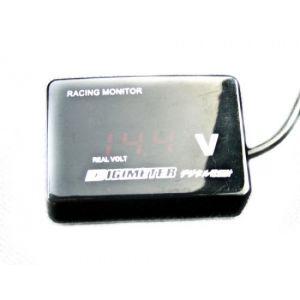 D1 Spec Manometre Voltmetre Digital Noir-35455