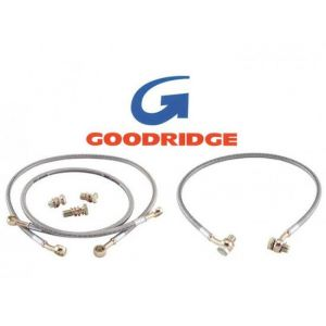 Goodridge Avant Durites de Freins Acier Inoxydable Honda Accord-37250