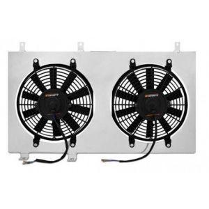 Mishimoto Plaque Ventilateur avec Ventilateur Extra Plat Aluminium Nissan S13-39337