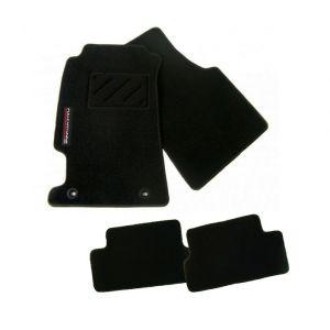 Fullcartuning Tapis de Voiture Noir Honda Civic-42922