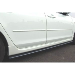 ABS Dynamics Jupes Laterales Noir Plastique ABS Mitsubishi Lancer Evolution-43545