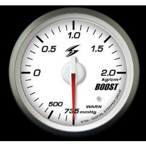 Stri Manometre DSD Club Sport Blanc 52mm Pression Turbo-41716