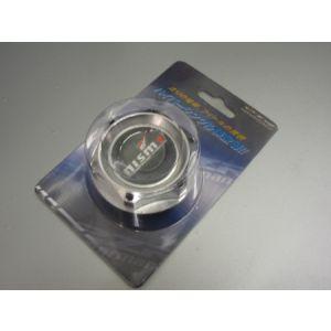 SK-Import Bouchon d'huile moteur Nismo Style Argent Aluminium Nissan 300 ZX,350Z,370Z-39591