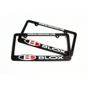 Blox Racing Support Plaque d'Immatriculation Logo Rouge-44636