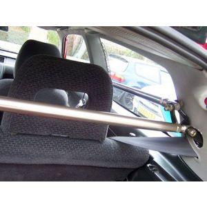 SK-Import Barre Anti-Rapprochement B+C Pillar Argent Aluminium Honda Civic-45061