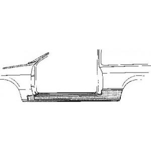 OEM-Parts Seuil OEM Acier Honda Civic-45782