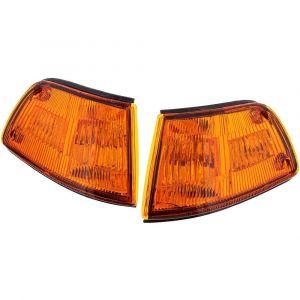 Sonar Veilleuses JDM Style Chromé Ambre Honda Civic Pre Facelift-46019