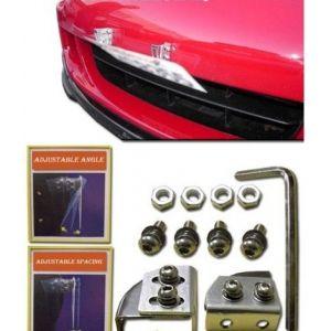 SK-Import Kit Relocalisation Plaque d'Immatriculation Zeazous Style Aluminium-46927