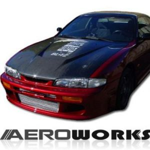 AeroworkS Capot Invader Style Carbone Nissan S14-30608