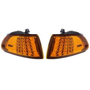 Eagle Eye Clignotants LED Chromé Ambre Honda Civic-50096