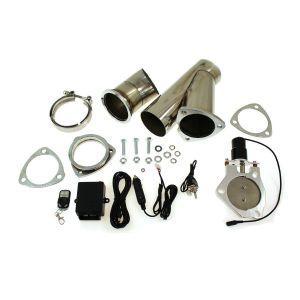 SK-Import Contrôleur de Valve d'Echappement Cut Out Kit Ajustable Electriquement Acier Inoxydable-57560-2.5