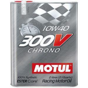 Motul Huile Moteur 300V Chrone 2 Liter 10W-40 100 Synthétique-58894