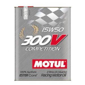 Motul Huile Moteur 300V Competition 2 Liter 15W-50 100 Synthétique-58895