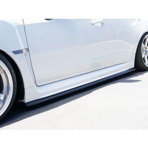 PU Design Jupes Laterales CS Bottom Line Noir Polyurethane Subaru Impreza-60102