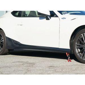 ABS Dynamics Jupes Laterales Noir Plastique ABS Subaru,Toyota-60108