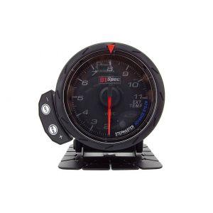 D1 Spec Manometre Version 2 Noir 60mm Température d'Echappement-60302
