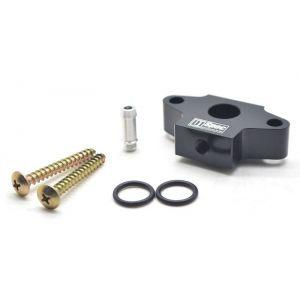 D1 Spec Adaptateur Manomètre Noir Pour Capteur de Pression Turbo Acier BMW 2-serie,3-serie,5-serie-62661