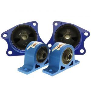 Hardrace Support Différentiel Bleu Honda S2000-62762