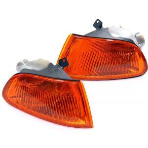 SK-Import Veilleuses JDM Style Chromé Ambre Honda Civic-30018