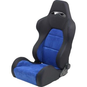 SK-Import Siège As Adjustable Noir - Bleu-64957