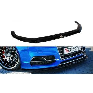 Maxton Avant Lame de Pare-Choc Noir Plastique ABS Audi S3-76940