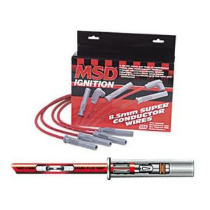 MSD Cable de bougie Rouge Honda Prelude,Accord-39522