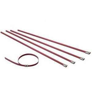 SK-Import Collier de Serrage Bande Thermique Rouge-64224-RD