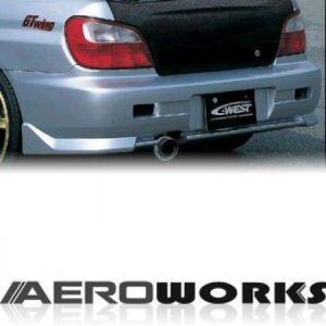 AeroworkS Arrière Pare-Choc TRC Style Fibre de Verre Subaru Impreza-30695