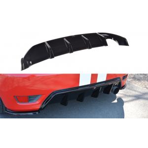 Maxton Arrière Diffuseur Noir Plastique ABS Ford Fiesta-76962