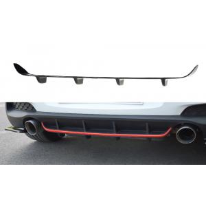 Maxton Arrière Diffuseur Noir Plastique ABS Hyundai I30-77066