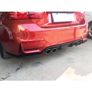 CarbonWorks Arrière Diffuseur 3D Style Carbone BMW 3-serie,4-serie-79606