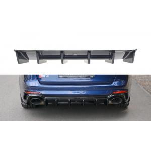 Maxton Arrière Diffuseur Noir Plastique ABS Audi RS4-76802