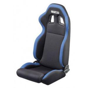 Sparco Siège R100 Adjustable Noir - Bleu Textile-41079