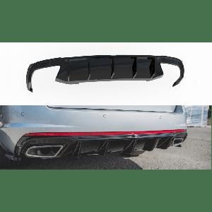Maxton Arrière Diffuseur V2 Noir Plastique ABS Skoda Octavia-77195