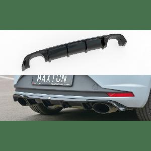 Maxton Arrière Diffuseur Noir Plastique ABS Seat Leon-77153