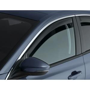 Climair Avant Deflecteur de Vitre Latérale Teinté Plastique Honda Civic-34850