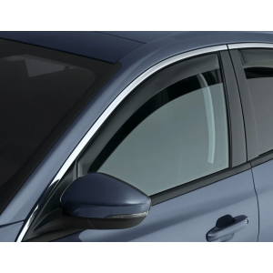 Climair Avant Deflecteur de Vitre Latérale Teinté Plastique Volvo S40-35079
