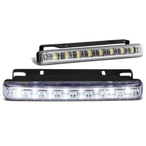 SK-Import Avant Anti-Brouillard 8 LEDs Transparent-79424